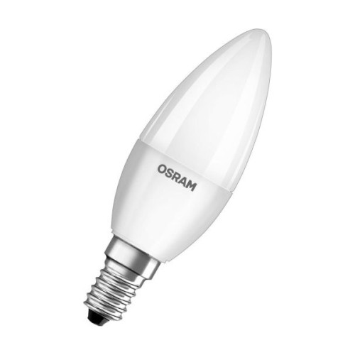 LED SIJ.5W E14 230V VALUE CLB40 2700K 470LM MLECNA OSRAM